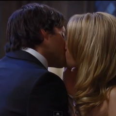 Dante and Lulu kiss after their wedding (2011)