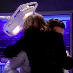 Forced hug