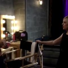 Nathan and Maxie bond backstage at the Nurses' Ball