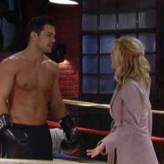 Maxie is furious with Nathan about the boxing match