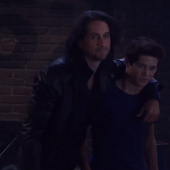 Stephen and son Rafe