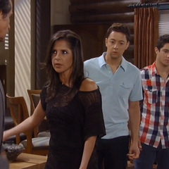 Rafe with Sam, uncle Silas and Spinelli