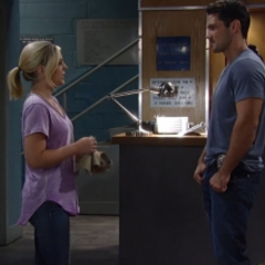 Nathan asks Maxie out on a date -- Maxie says yes