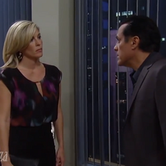 Sonny and Carly (Wright) talk (2014)