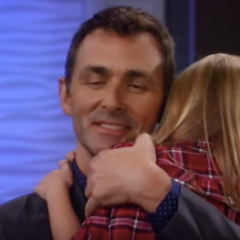 Charlotte reunites with her papa