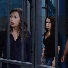 Anna, Jason, and Sam at the Holding Cells