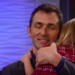 Valentin reunited with daughter, Charlotte
