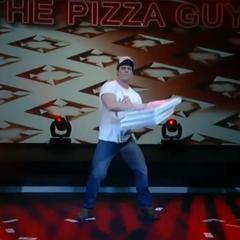 Magic Milo, the pizza guy