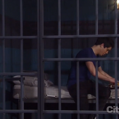 Rafe in jail