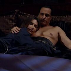 Sonny and Brenda in bed