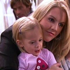 Starr and daughter Hope