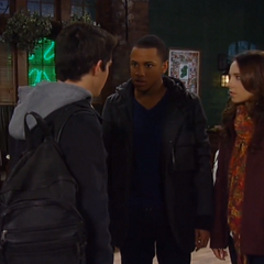 Rafe is confronted by Molly and TJ
