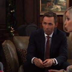Valentin and Lulu discuss Charlotte's bullying issues. (2018)