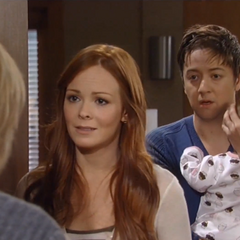Spinelli and Ellie try to get Maxie to leave