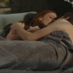 Spinelli and Ellie make love