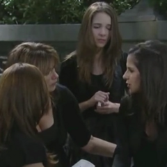 Sam talks about Lila with her mom and sisters (2012)