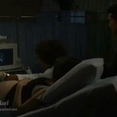 Sam and Jason at an ultrasound
