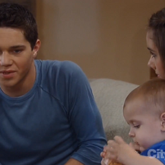 Rafe with Molly and Danny