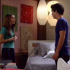 Rafe hides in Molly's room