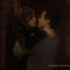Brenda and Sonny alley kiss