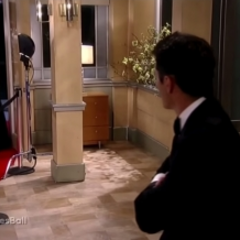 Nathan is happy to see Maxie at the Nurses' Ball