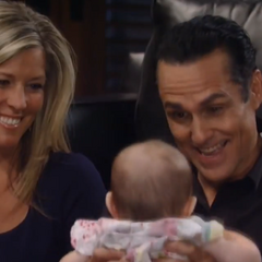Sonny and Carly bond with Avery after Michael brings her back