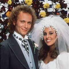 Luke weds Laura Webber