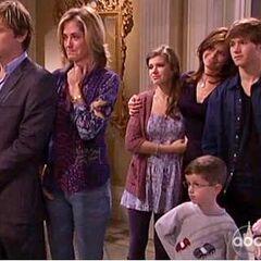 Todd, Blair, Danielle, Téa, Jack, Sam