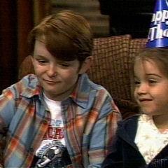 Siblings Michael and Kristina