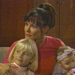 Christina with mom, Lucy and sister, Serena