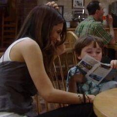 Brenda and son Alec
