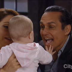 Georgie says goodbye to Sonny and Olivia