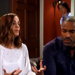 Hayden tells Curtis that she doesn't know if she wants her unborn daughter while Finn listens