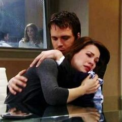 Lucky comforts Liz after Jake