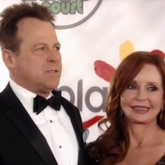 Scott and Bobbie on the red carpet