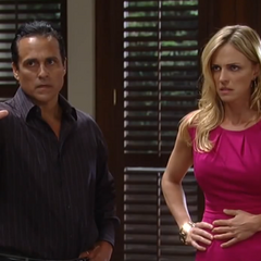 Sonny saves Connie from A.J. (2013)