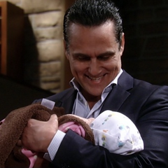 Uncle Sonny holds Scout