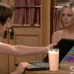 Maxie taunts Spinelli about Logan and Lulu