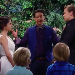 The ceremony begins (JaSam's second wedding)