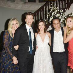Corinthos family wedding photo