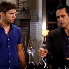 Sonny with his son Morgan