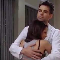 Hug while Danny is sick