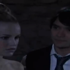 Dante and Lulu at Spinelli and Maxie's non-wedding reception (2009)