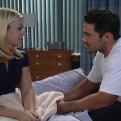 Nathan and Maxie talk about her not getting custody of Georgie
