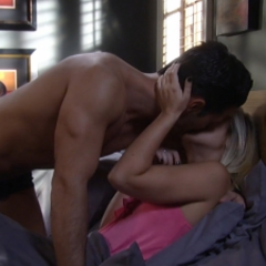 Nathan and Maxie make love