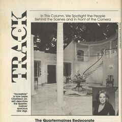 The first renovation to the mansion. (1990)