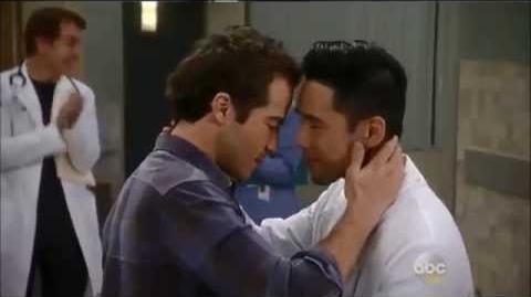 """Lucas Professes His Love For Brad"" General Hospital"