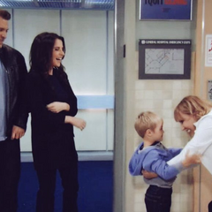 Monica with grandson Danny