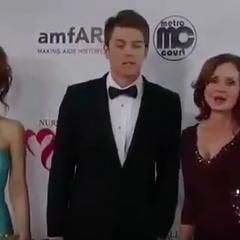 Olivia, Michael and Bobbie