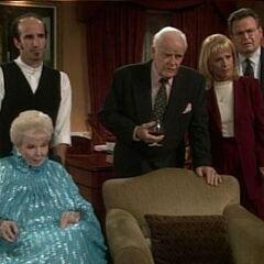 Butler Reginald, Lila, Edward, Monica, Alan